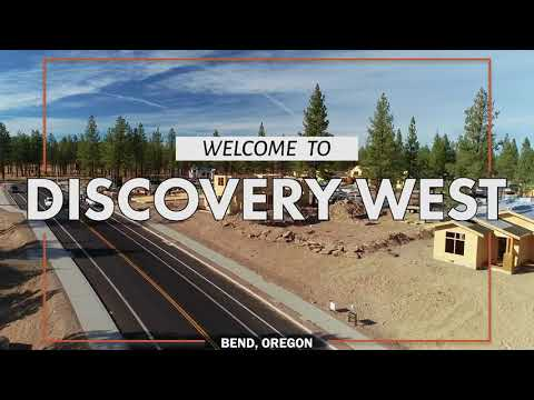 Discovery West Bend - Aerial Tour of New Construction  and Homes in Bend's Newest Neighborhood