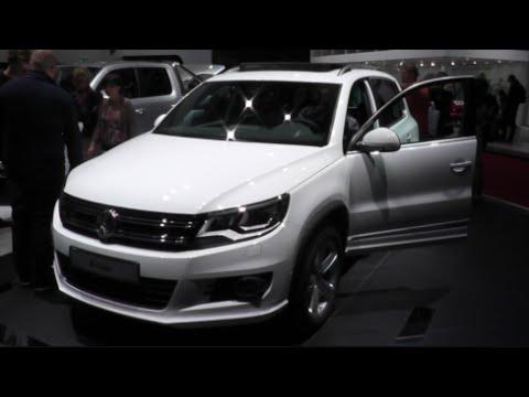 Vw R Line >> Volkswagen Tiguan R-Line 2015 In detail review walkaround