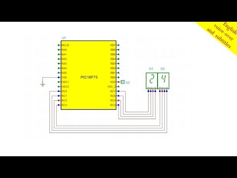 Creating a simple counter circuit using a pic microcontroller with creating a simple counter circuit using a pic microcontroller with assembly language programming ccuart Images