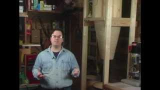 Bill Pentz/clearvue Style Cyclone P2- Harbor Freight Dust Collector- Woodworking With Stumpy Nubs 29