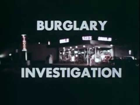 FBI training film Burglary Investigation 1960s