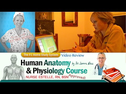 Dr. Ross Human Anatomy and Physiology Course Review | Nurse Estelle, RN, BSN | 3D Human Body Review