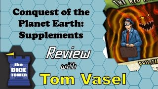 Conquest of the Planet Earth Supplements Review - with Tom Vasel