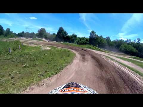 Ride Organic Motocross Track Alton Illinois GOPRO  Grant Shelton Yamaha YZ250F
