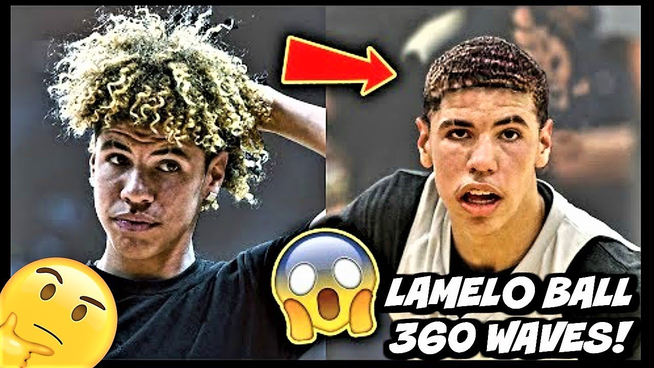 Lamelo Ball Shaved His Hair For 360 Waves You Gotta See This