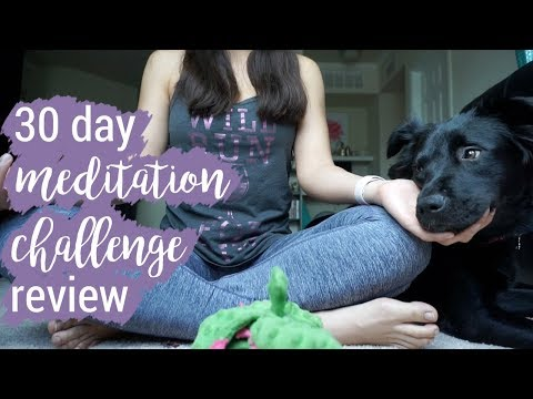 30 Day Meditation Challenge Review