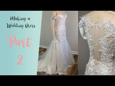 Diy Wedding Dress Lets Make A Wedding Dress With Lace