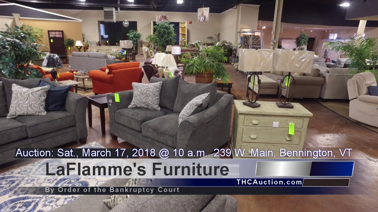 LaFlammes Furniture Auction