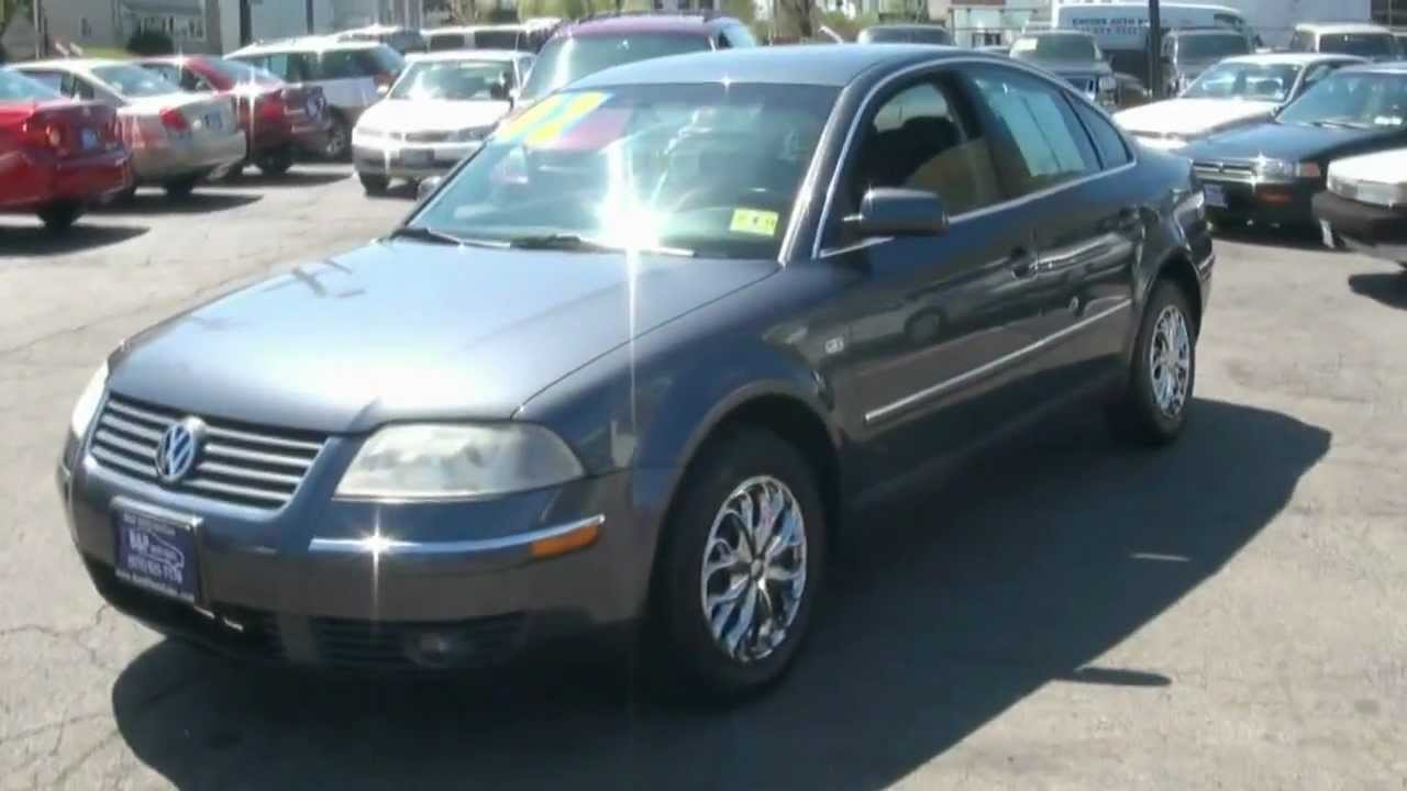 2002 volkswagen passat 1 8t gls sedan youtube. Black Bedroom Furniture Sets. Home Design Ideas