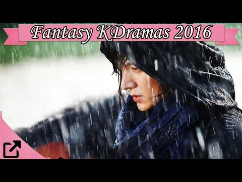 Top 10 Fantasy Korean Dramas 2016 (All the Time)