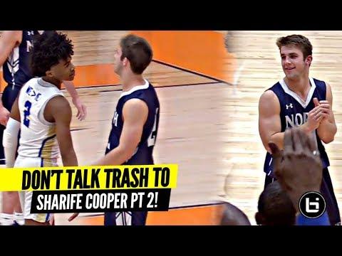DON'T TALK TRASH TO SHARIFE COOPER!! Sharife Makes 'Em PAY I