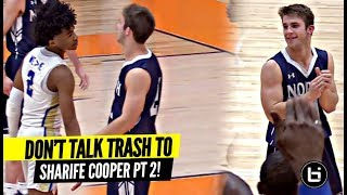 DON'T TALK TRASH TO SHARIFE COOPER!! Sharife Makes 'Em PAY In Conf. Championship!!