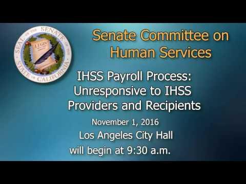 Senate Human Services Hearing