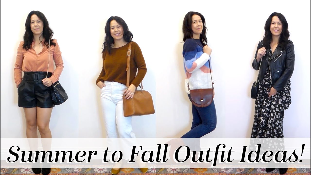 7 Outfit Ideas for Fall! Transitional Outfit Look book | Kait Bos 5