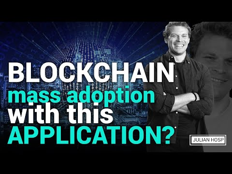 Blockchain mass adoption with this application?