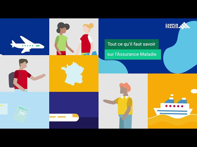 Campus France tutorials: Everything you need to know about the Assurance Maladie - English subtitles