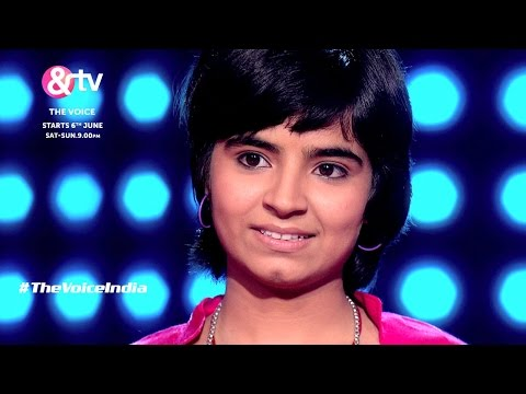 The Voice India - Sanjana Impresses With her Soulful Voice