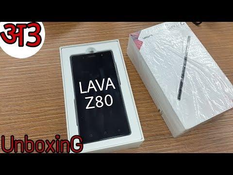 Lava Z80 Unboxing