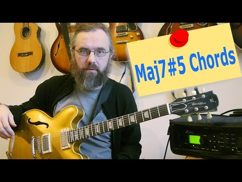 Improvising and using Maj7#5 chords