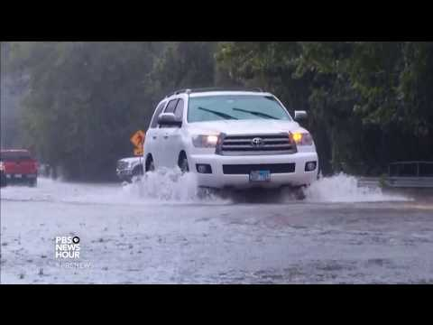 Texas rescuers work around the clock in unrelenting rain and flooding