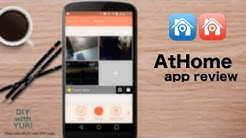 AtHome app review: turn your old smartphone into a do it yourself home security system