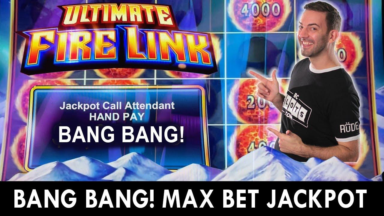 BANG BANG JACKPOT ☄️ Ultimate MAX Bet Fire Link ☄️