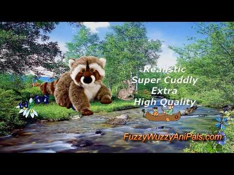 Plush Raccoon Destry by Gund Stuffed Animals
