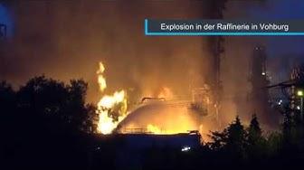 Explosion in der Raffinerie bei Vohburg