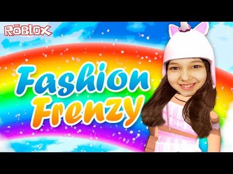 Roblox - DESFILANDO COM MUITA IMAGINAÇÃO! (Fashion Frenzy Imagination!) | Luluca Games