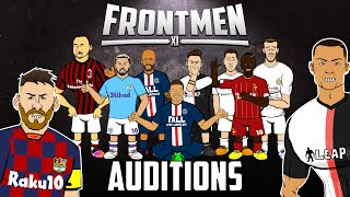 🔥FRONTMEN AUDITIONS!🔥 Feat Neymar, Mane, Zlatan, Haaland, Ronaldo, Messi & more!