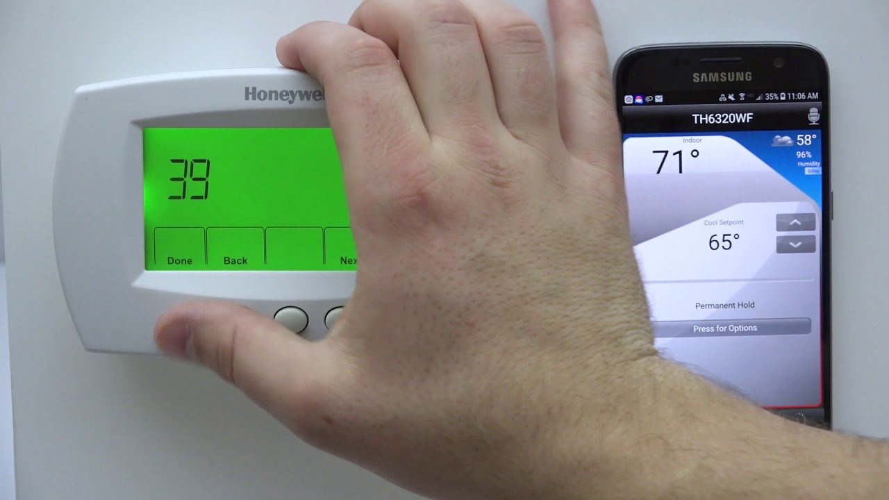 How to reset the wifi connection on your Honeywell Home FocusPRO Thermostat