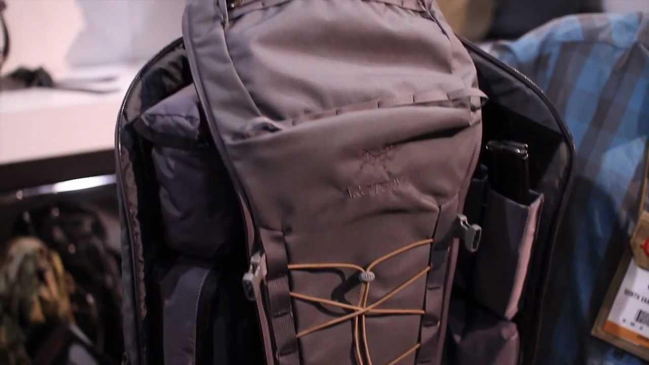 c05af3a6ac Khard Pack from Arc'teryx LEAF - YouTube