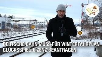 Gerichtsurteil: Deutsche Bahn muss für Winterfahrplan Glücksspiel-Lizenz beantragen
