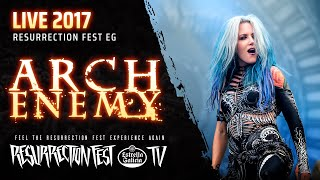 "Arch Enemy playing ""Nemesis"" at Resurrection Fest Estrella Galicia ..."