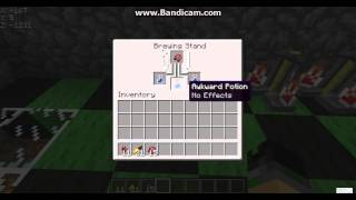 Minecraft : How to make potions of weakness, night vision and invisibility TUTORIAL