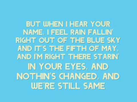 [On Screen Lyrics] Keith Anderson - Every Time I Hear Your Name