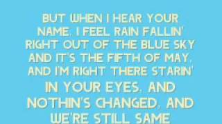 [On Screen Lyrics] Keith Anderson - Every Time I Hear Your Name YouTube Videos