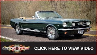 1965 Ford Mustang GT Convertible (SOLD)