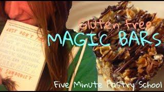 Gluten Free Magic Bars | Five Minute Pastry School