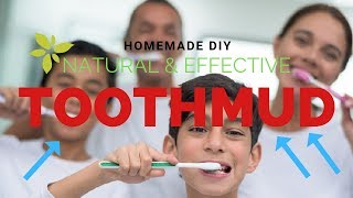 How to Make Your Own Toothpaste! Fluoride-free, Natural, Effective!