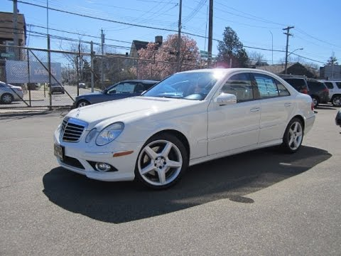 Marvelous 2009 Mercedes Benz E350  FULL TOUR U0026 START UP   YouTube