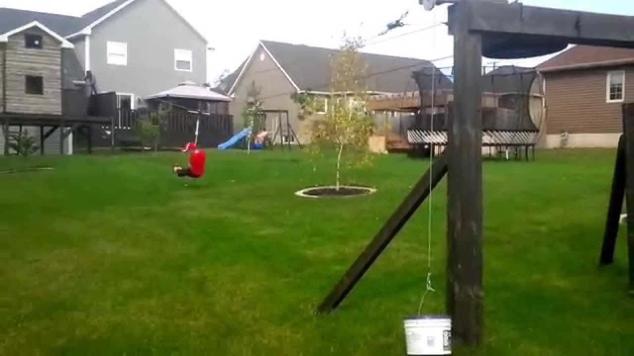 DIY Zip Line Brake - DIY Zip Line Brake - YouTube