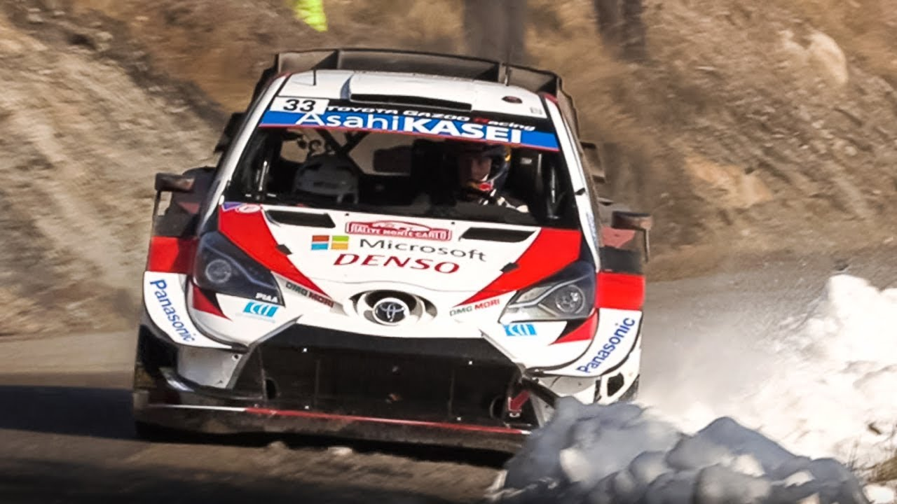 WRC 2020: Rallye Monte-Carlo - Saturday Action from Special Stage 10/12!