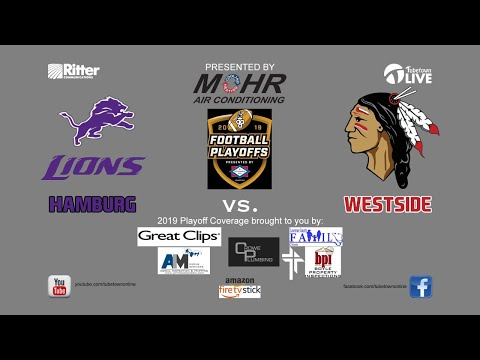 2019 Arkansas High School Football Playoffs-Hamburg vs. Westside