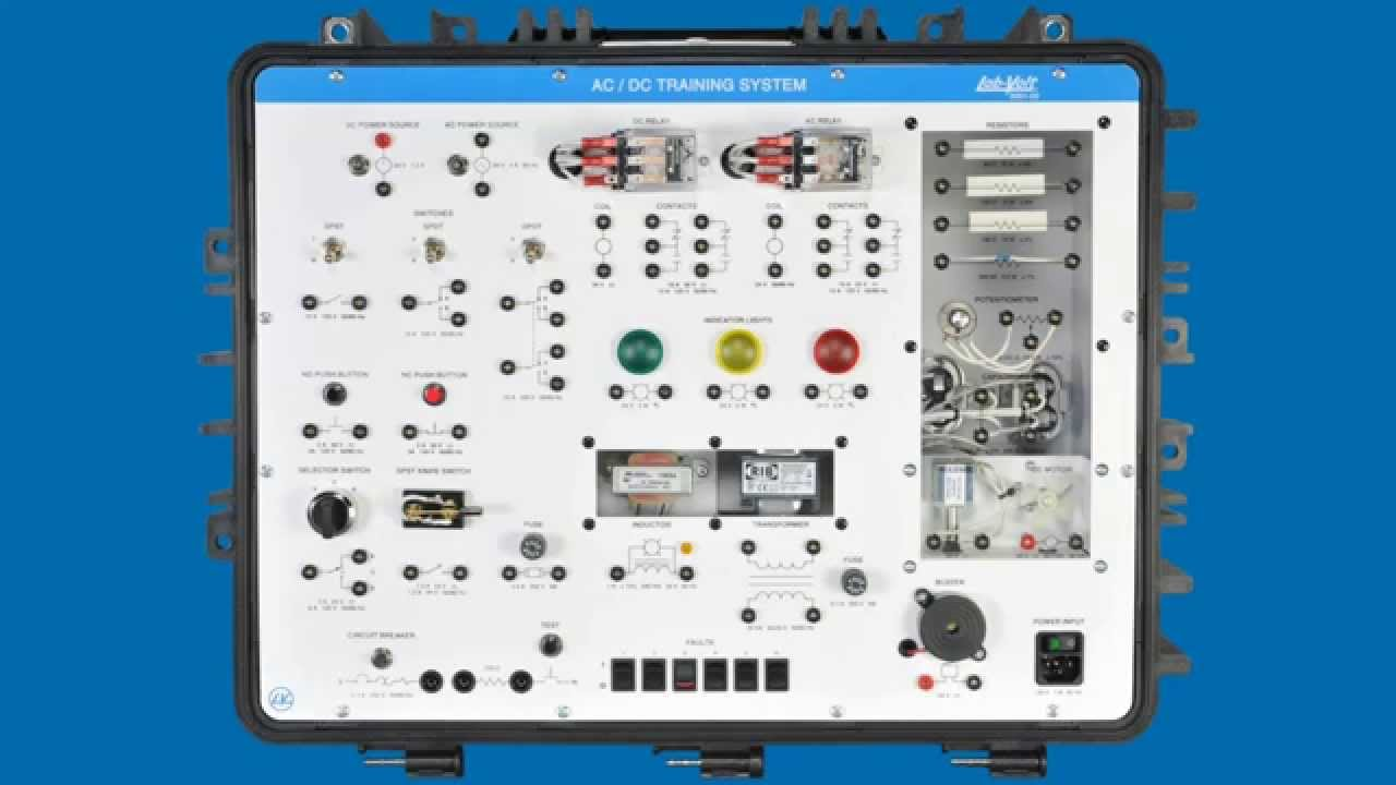 AC/DC Training System – LabVolt Series 3351 - YouTube