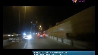 Иномарка лихачит на встречке в Сочи