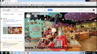 How to embed a Google Business Virtual tour into a webpage Part 1