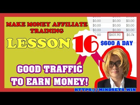 How To Make Money Online Fast 2018| Earn Money Fast From Home With Affiliate| P16