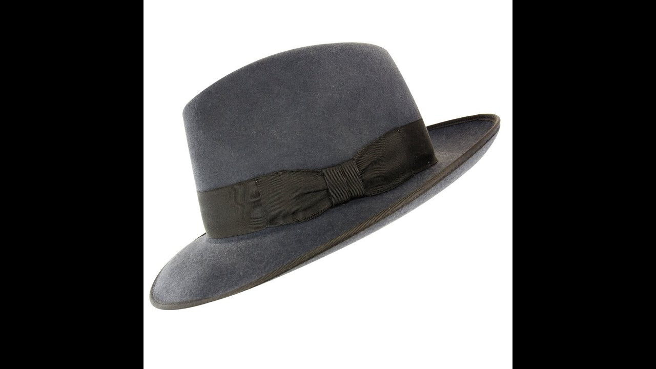 Akubra Bogart in Carbon Grey Hat Review - Hats By The Hundred - YouTube 64a314e5b6e
