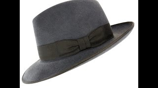 Akubra Bogart in Carbon Grey Hat Review - Hats By The Hundred